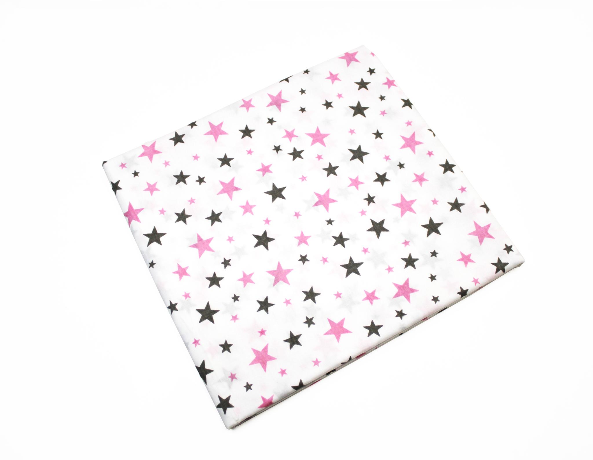 Звезды серо-розовые,мелкие