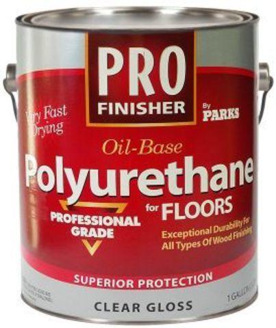 PRO Finisher Oil Base Polyurethane профессиональный полиуретановый лак для пола