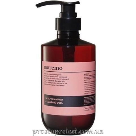 Moremo Scalp Shampoo Clear Аnd Cool - Очищаючий шампунь