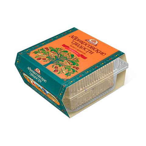 ХАЛВА Абрикосовские сладости с арахисом 300 г