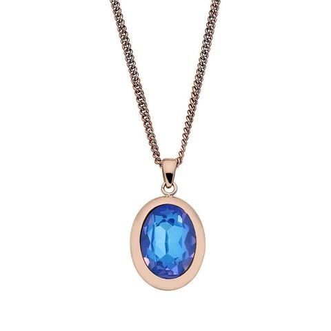 Колье Tivola Royal Blue Delite 404685 BW/RG