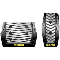 Накладки на педали MOMO Shield (автомат) Black