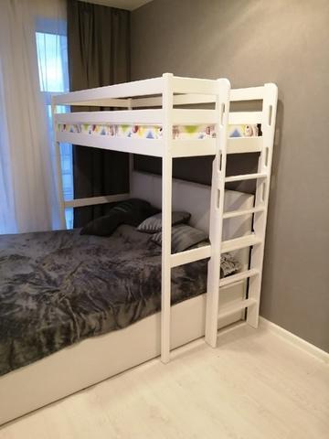 Кровать Чердак из массива