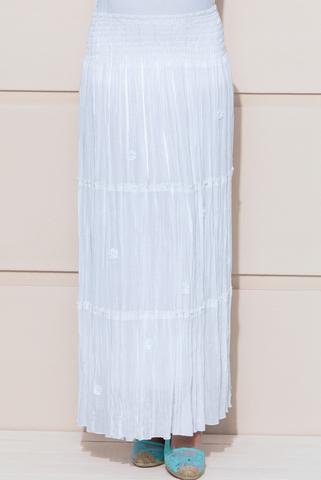 Юбка для беременных 06508 белый