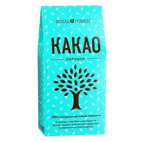 Какао-порошок натуральный, 100 гр. (ТрансКэроб)