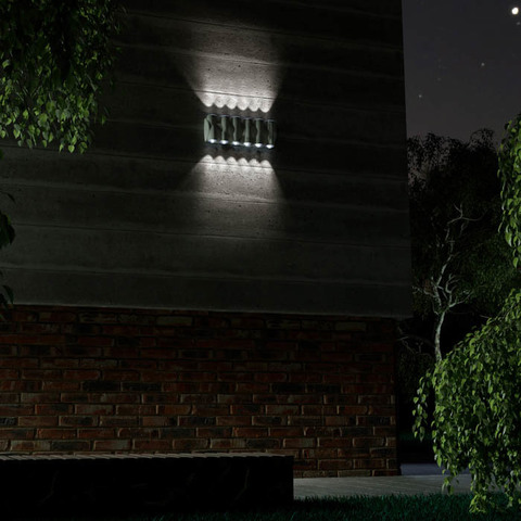 Уличный настенный светодиодный светильник 358570 серии CALLE