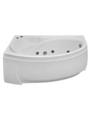 Акриловая ванна BAS Фэнтази 150х90х55 левая, c гидромассажем