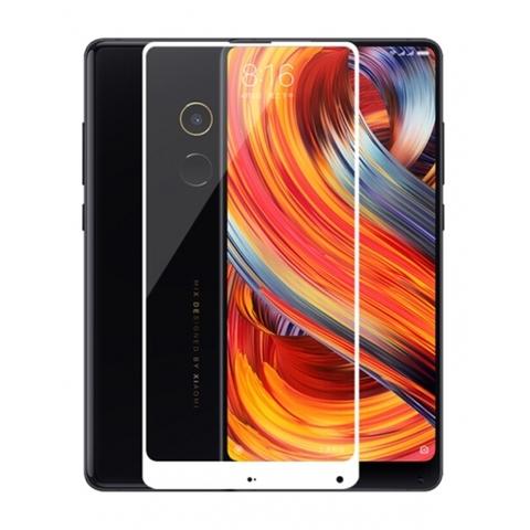Защитное стекло Xiaomi Mi Mix 2S (белое)