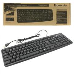 Клавиатура компьютерная DEFENDER Element HB-520 USB B черная
