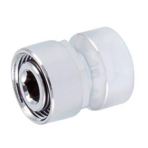 Резьбовое соединение для стальных труб хром GW M22x1,5 x GW 1/2