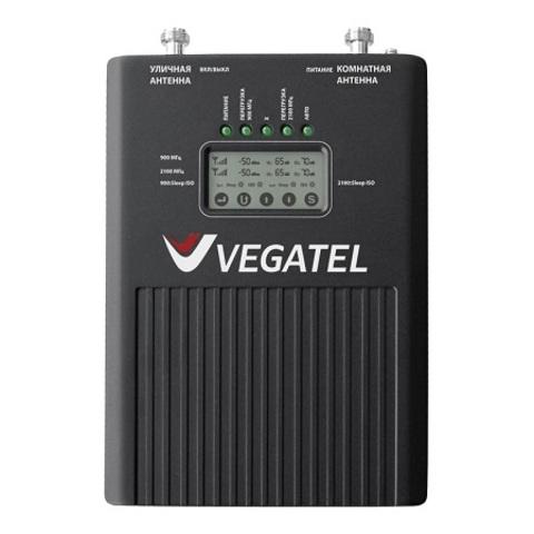 Репитер 900/2100 (2G/3G) VEGATEL VT2-900E/3G (LED)
