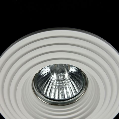 Встраиваемый светильник Maytoni Gyps Modern DL004-1-01-W