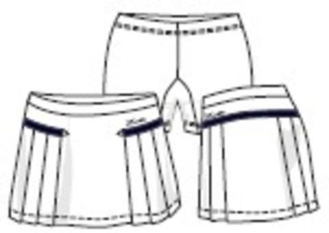 Юбка теннисная с шортами LOTTO Greta Q2429