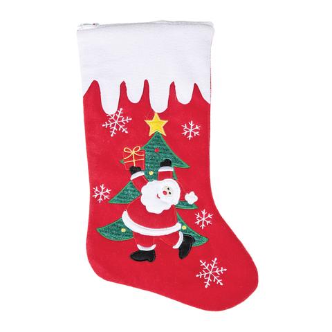 №2-Т36 Носок «Атмосфера Рождества»