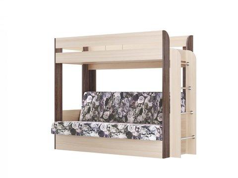 Кровать-чердак с диван-кроватью