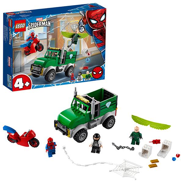 LEGO Super Heroes 76147 Конструктор ЛЕГО Супер Герои Ограбление Стервятника