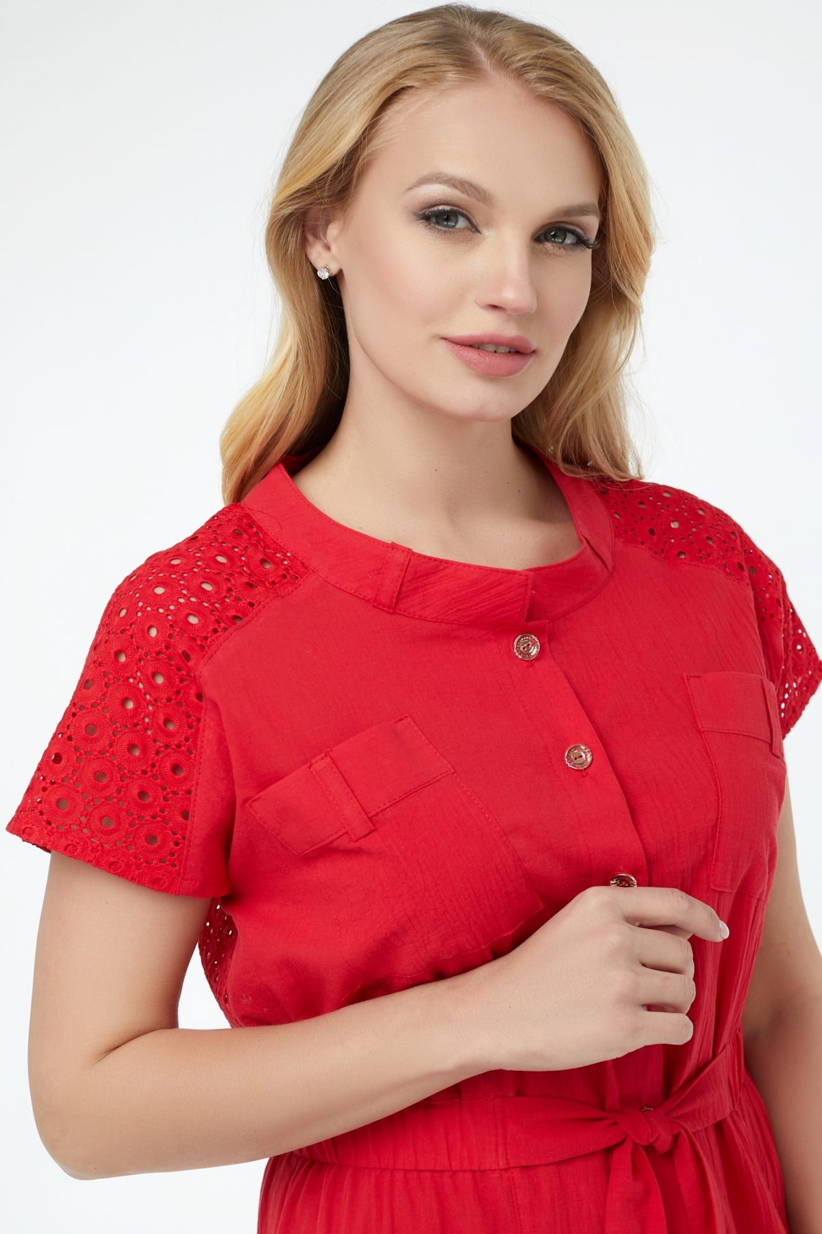 Платье Дарья (красный )