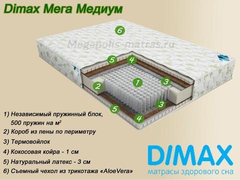Матрас Димакс Мега Медиум от Мегаполис-матрас