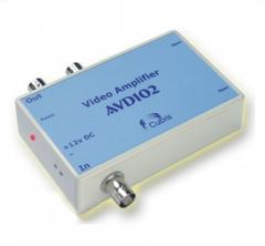 Разветвитель-усилитель видеосигнала AVD102,(1 вход,2 выхода)