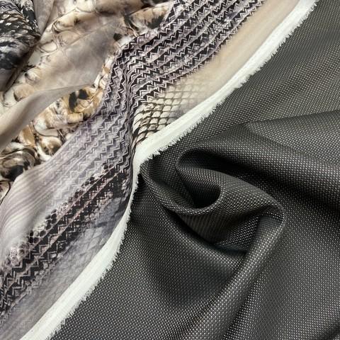 Ткань костюмно-плательная темно-коричневая  3374