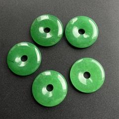 Кварц (имитация жадеита) диск/кольцо 25 мм