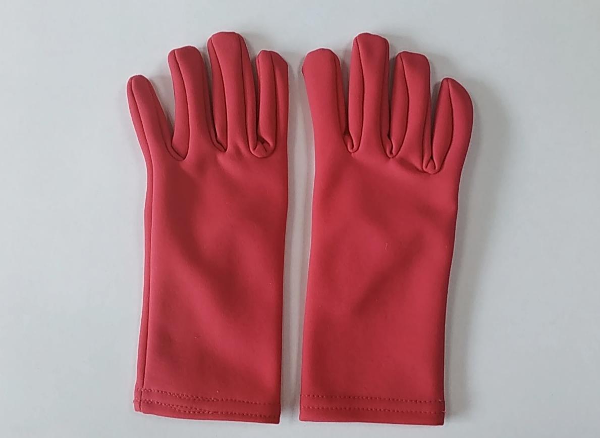 Перчатки из термоткани (малиновые)