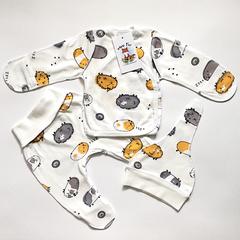 Mini Fox. Комплект для новорожденных 3 предмета, хомяки