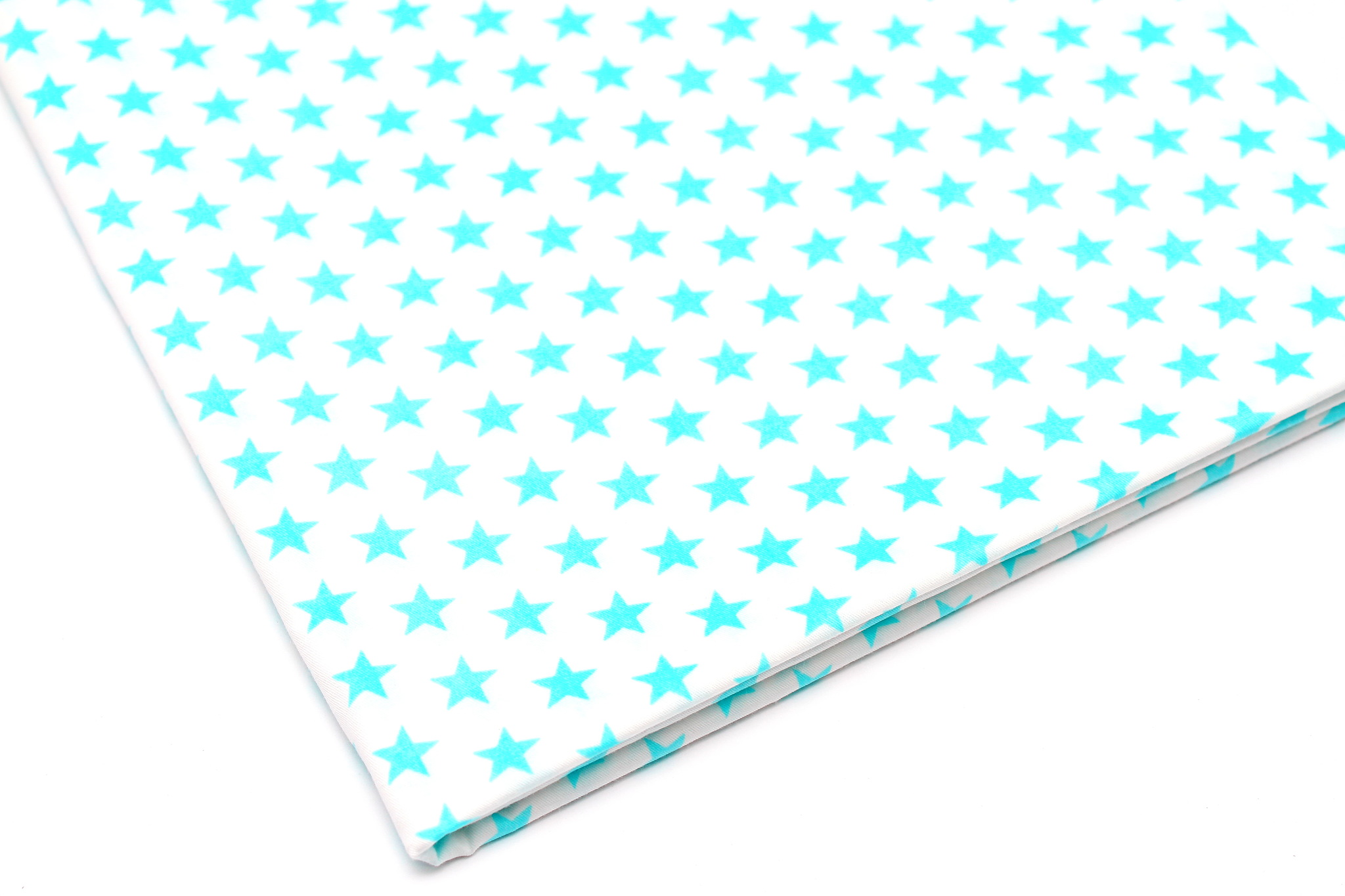 Звезды мята на белом, 12 мм