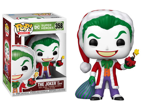 Santa Joker Funko Pop! DC Christmas ||  Санта-Джокер