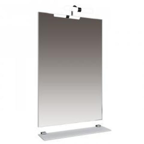 Зеркало Triton Диана-60 с подсветкой +Полочка 60 с комплектом крепления