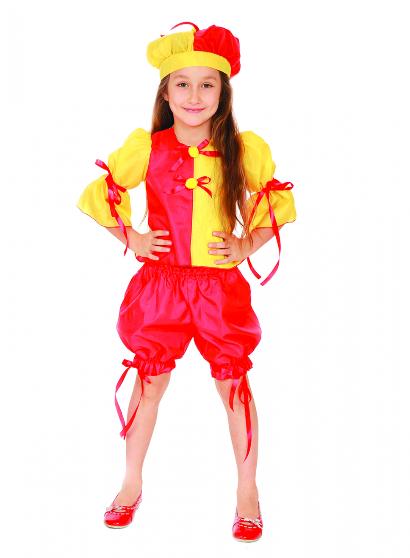 Карнавальный костюм Клоунесса детский