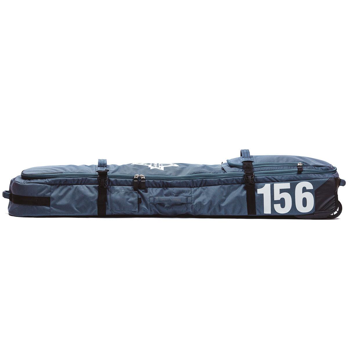 Чехол для сноуборда Born на колесах 156/166 см Серый (0099990)