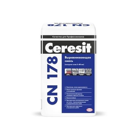 Ceresit CN 178/Церезит ЦН 178 выравнивающая смесь для пола