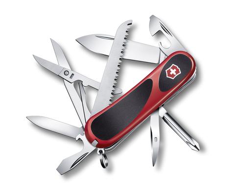 Нож Victorinox EvoGrip 18, 85 мм, 15 функций, красный с черным123