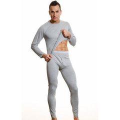 Мужское нательное белье с тонкой резинкой Calvin Klein 365 Underwear Grey