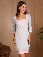 Vivamama. Платье домашнее Alina вид 1