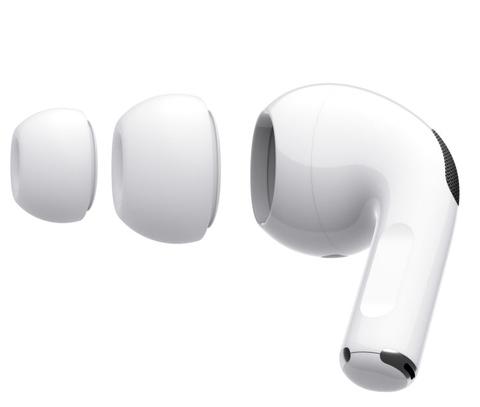 Амбушюры (вкладки) для наушников Apple AirPods Pro размер S и L комплект