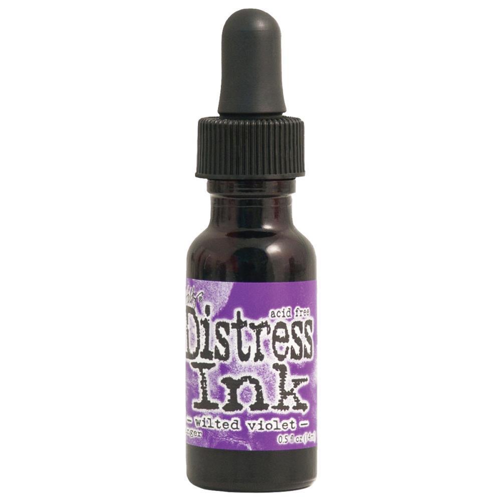 Чернила для заправки  Distress Ink Ranger - wilted violet