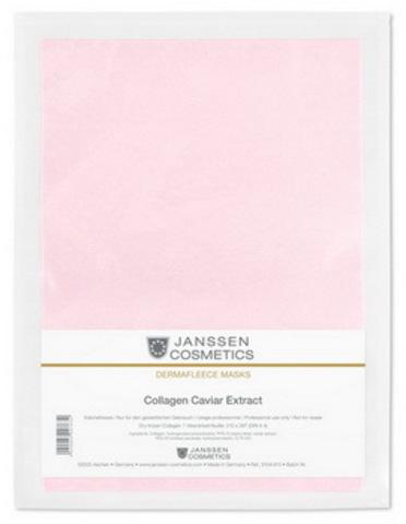 Коллаген с экстрактом икры (розовый лист),Janssen Collagen Caviar Extract,1 лист