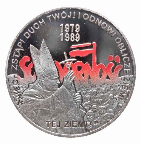10 злотых. Выборы 4 июня 1989 года. 2009 год. Польша.