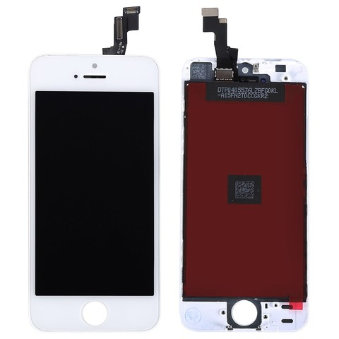 LCD Apple iPhone 5S White (Hancai)