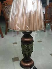 Cветильник с абажуром —  Коричневый (MK-4913)