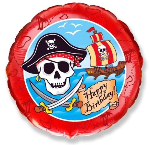 Фольгированный шар Пираты