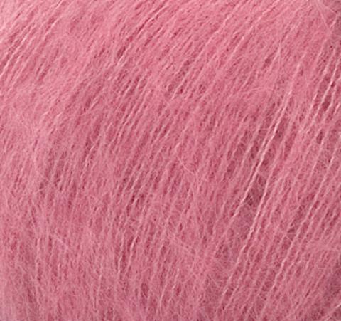 Пряжа Silk Mohair (Силк Мохер). Цвет: розовый. Артикул: 7259