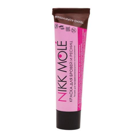 Краска Nikk Mole для бровей и ресниц - Темно-Коричневая