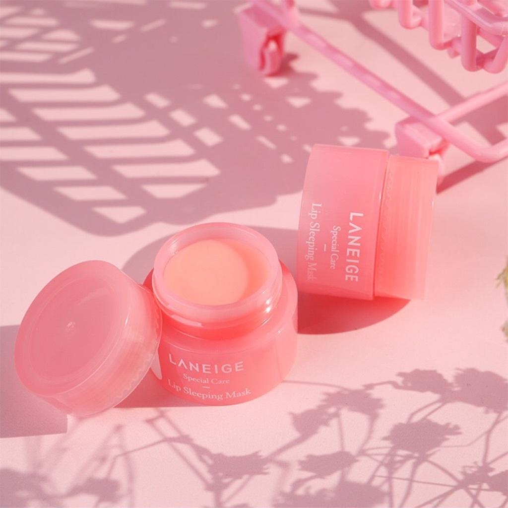Маска для губ Laneige Lip Sleeping Mask Berry розовая 3 г.