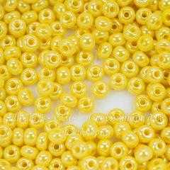 88110 Бисер 6/0 Preciosa Керамика блестящий желтый