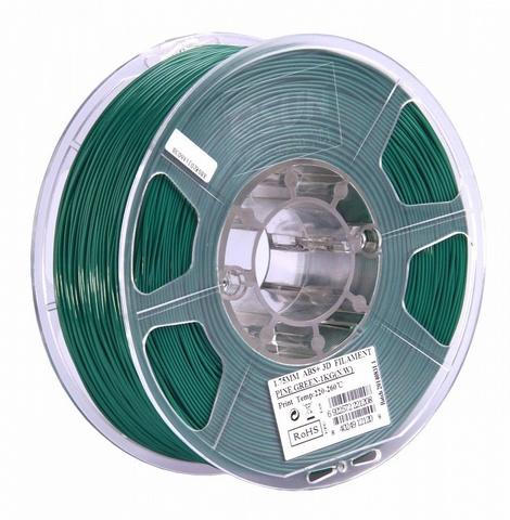 ESUN ABS+ 1.75 мм, 1 кг, темнозеленый