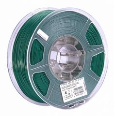 Фотография — ESUN ABS+ 1.75 мм, 1 кг, темнозеленый