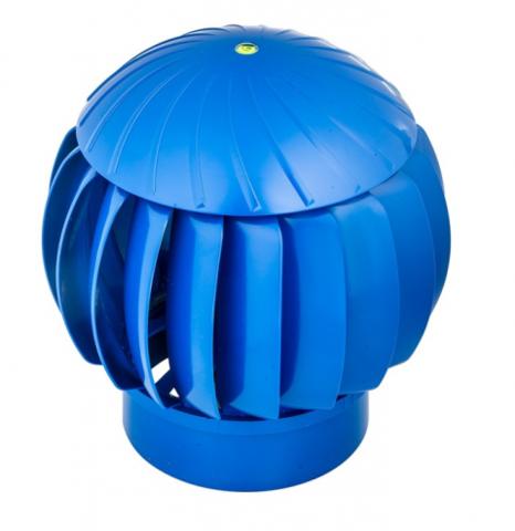 Турбина ротационная ERA RRTV Blue, (Нанодефлектор), универсальная, вентиляционная, пластик
